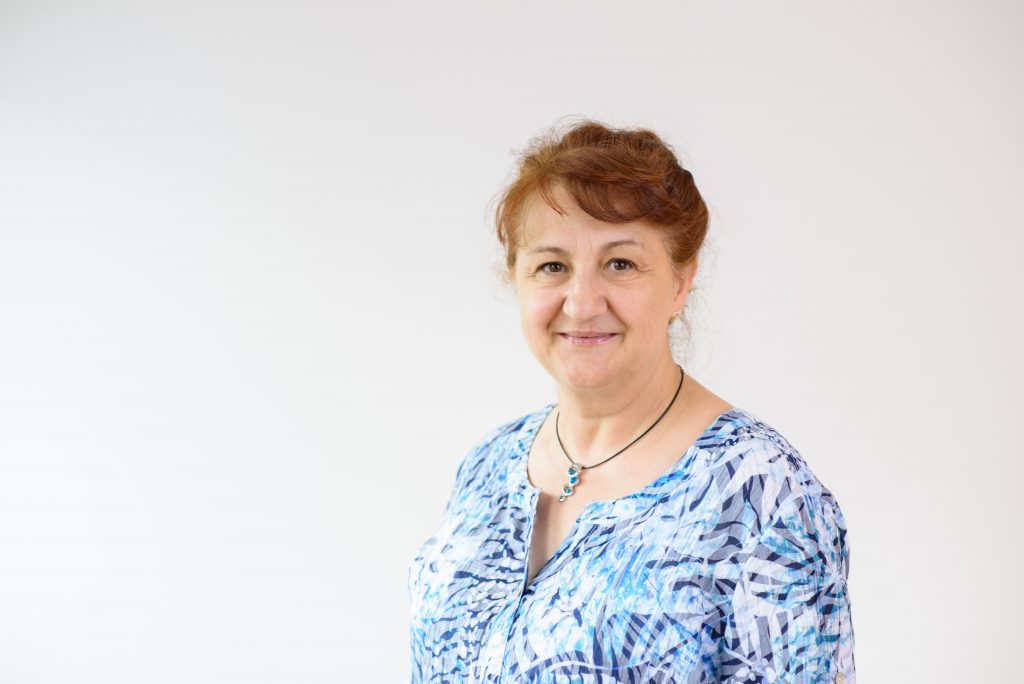 Ingrid Obst, leitende Krankenschwester